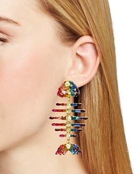 BAUBLEBAR - Baiji Multicolor Fish Drop Earrings