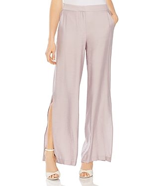 Vince Camuto Pants SIDE-SLIT WIDE-LEG PANTS