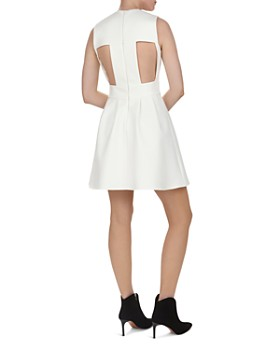 ba&sh - Wilson Cutout Fit-and-Flare Dress