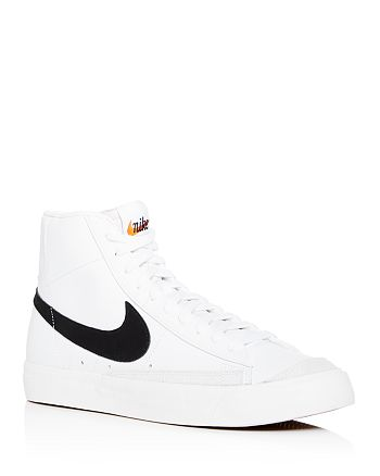 newest 9c35e 61604 Nike - Men s Blazer Mid  77 Vintage Leather High-Top Sneakers