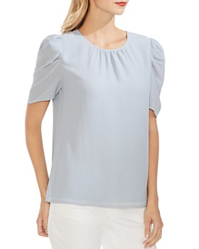 VINCE CAMUTO - Puff-Sleeve Top