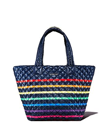 MZ WALLACE - Rainbow Medium Metro Tote - 100% Exclusive
