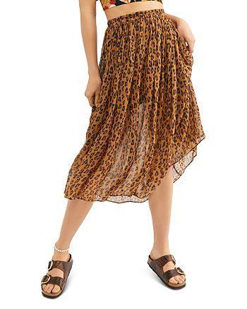 Free People - Lydia Printed Midi Skirt