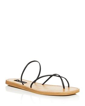 7590a7d90e AQUA - Helen Owen x AQUA Women's Zeus Strappy Sandals - 100% Exclusive ...