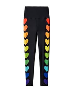 Beach Riot - Rainbow Heart High-Rise Leggings - 100% Exclusive