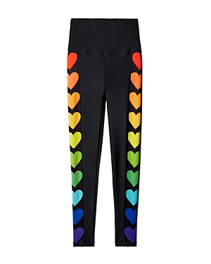 f1681e2738 Beach Riot Rainbow Heart High-Rise Leggings - 100% Exclusive ...