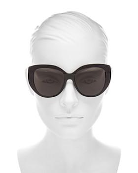 Dior - Women's Dior Soft 2 Oversized Round Sunglasses, 55mm