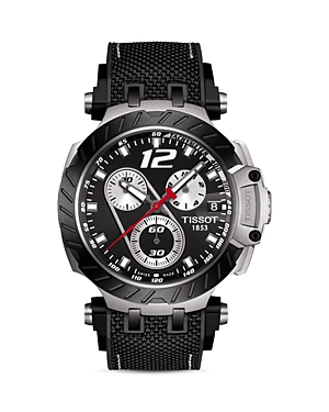 Tissot T-Race Jorge Lorenzo 2019 Limited-Edition Chronograph, 47.6mm