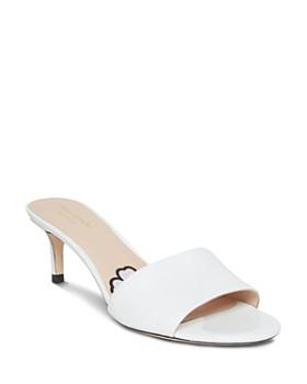 kate spade new york - Women's Savvi Kitten Heel Slide Sandals