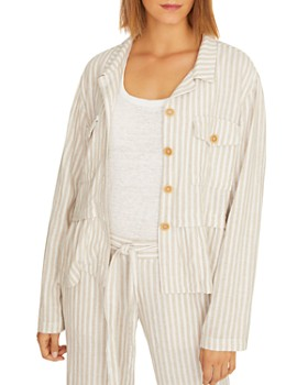 Sanctuary - Wild Spirit Striped Peplum Jacket