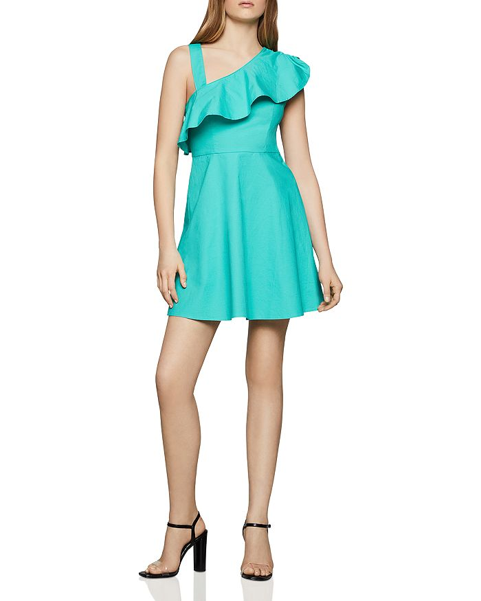 BCBGENERATION - Asymmetric Fit-and-Flare Dress