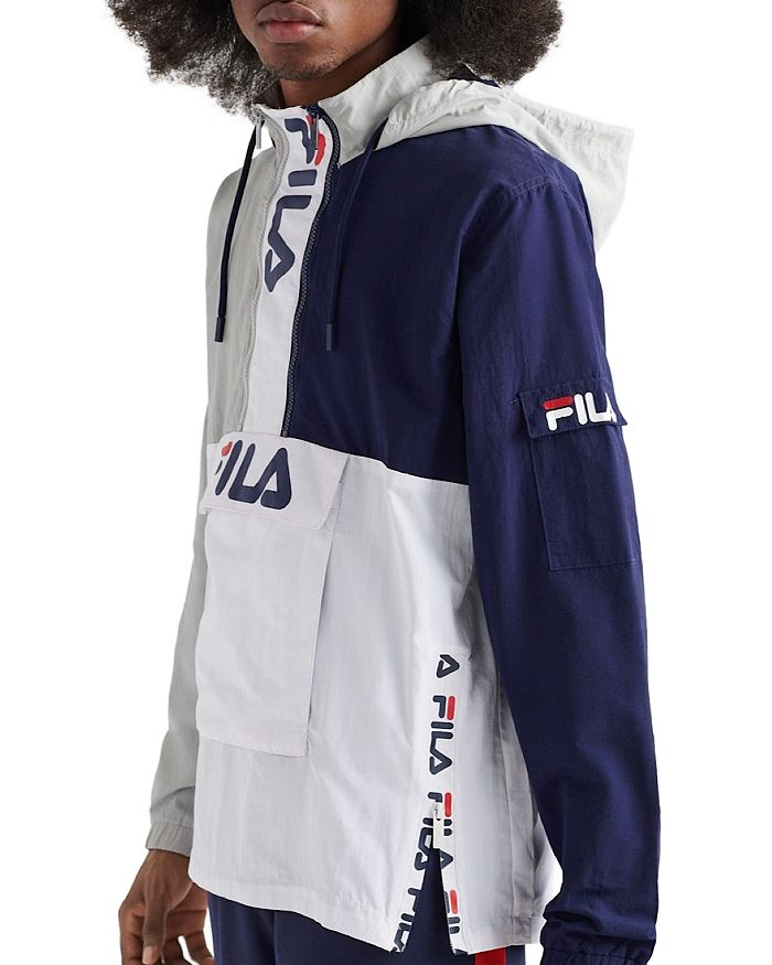 FILA - Parallax Color-Block Pullover Jacket