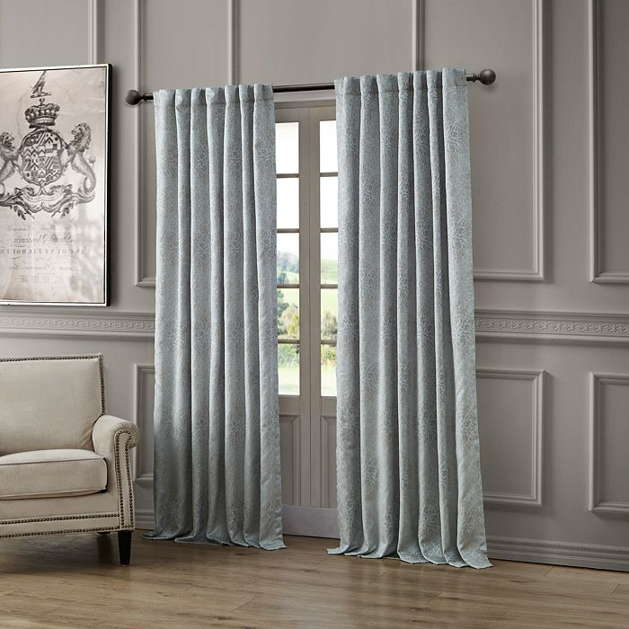 Waterford Delia Back Tab Rod Pocket Curtain Panel 54 X 108 Home Bloomingdale S