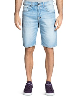PRPS - Torque Regular Fit Denim Shorts in Light Wash
