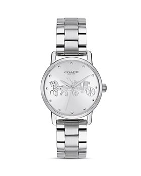 COACH - Horse & Carriage Motif Grand Watch, 28mm
