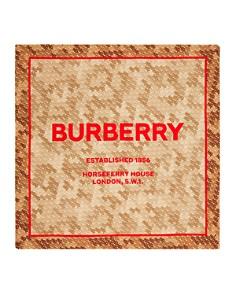 Burberry - Horseferry Logo Print Scarf