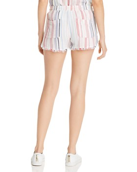Bella Dahl - Frayed Striped Shorts