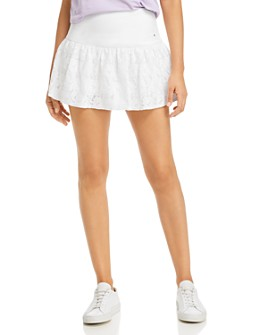 kate spade new york - Lace-Detail Tennis Skirt
