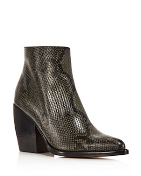 Chloé - Women's Rylee Pointed-Toe Booties