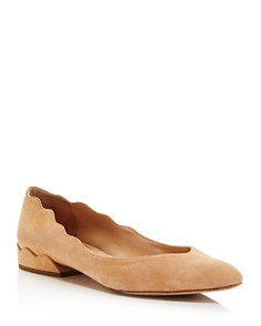 Chloé - Women's Laurena Suede Ballet Flats