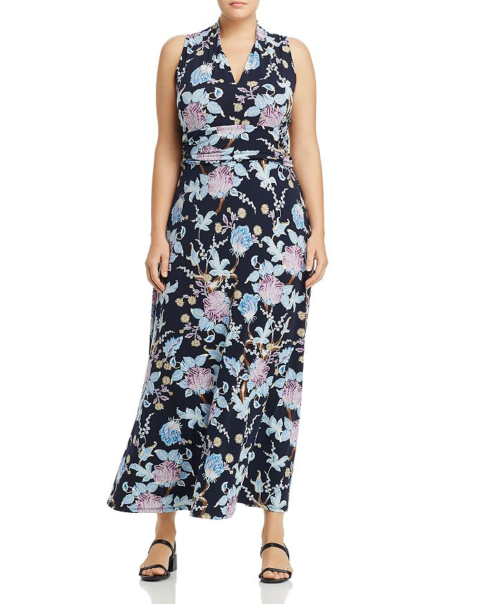 acfe54601a43 VINCE CAMUTO Plus Poetic Blooms Printed Maxi Dress | Bloomingdale's