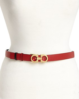 Salvatore Ferragamo - Women's Gancini Reversible Belt