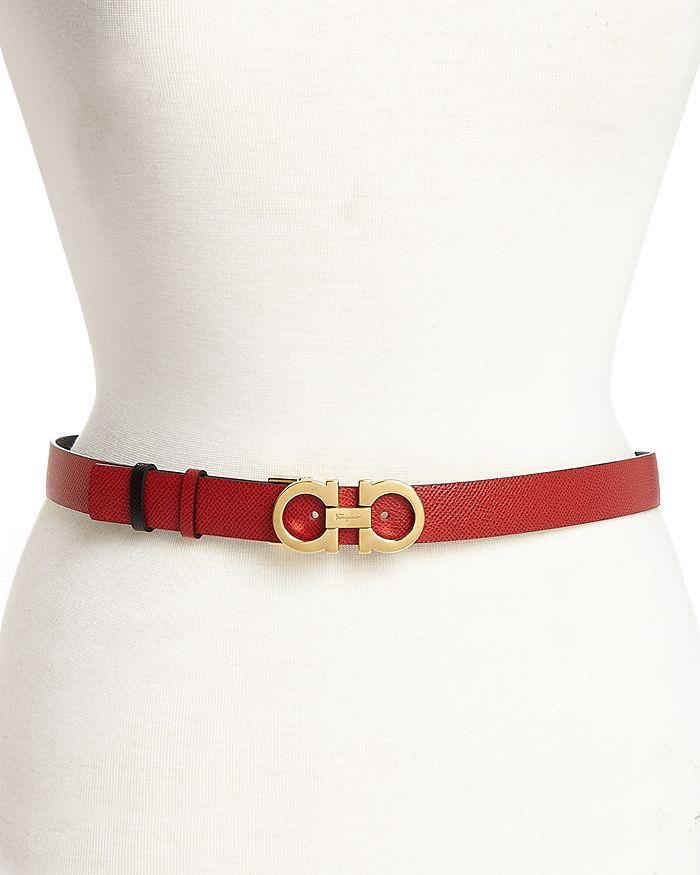 Salvatore Ferragamo - Women's Gancini Reversible Belt
