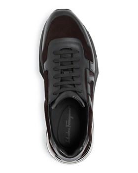 33dab5fcaa9 ... Salvatore Ferragamo - Men s Brooklyn Willy Suede Low-Top Sneakers