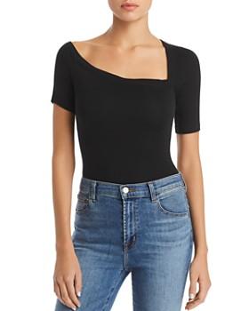 Alix - Harring Asymmetric Bodysuit
