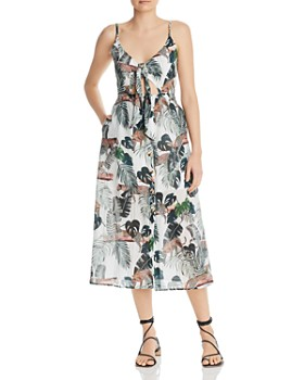 Suboo - Xenia Printed Cutout Dress