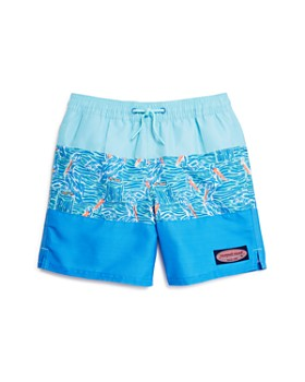 37920779fba140 Vineyard Vines - Boys' Pelican Striped Chappy Swim Trunks - Little Kid, ...