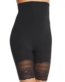 Natori - Plush Super High-Rise Mid-Thigh Shorts