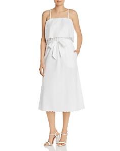Joie -  Rindinya Scalloped Midi Dress