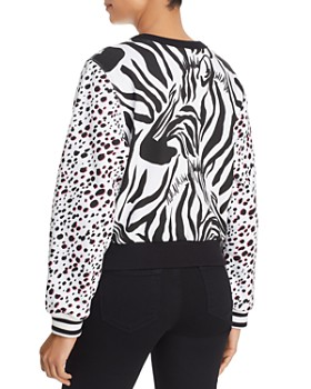 Escada Sport - Mixed Animal Print Sweatshirt