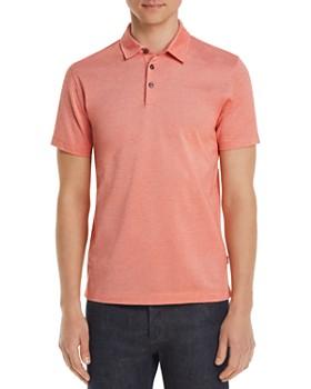 BOSS - Oxford Piqué Regular Fit Polo Shirt