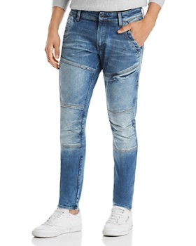 G-STAR RAW - Rackam 3D Skinny Fit Jeans in Faded Medium Aged