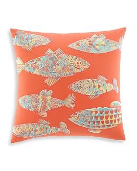 "Tommy Bahama - Batik Fish Decorative Pillow, 20"" x 20"""