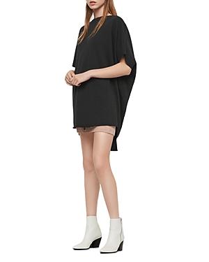 Allsaints Dresses XONDA HIGH/LOW SWEATSHIRT DRESS