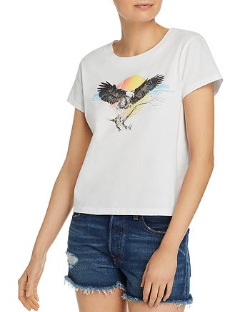 PAM & GELA - Eagle Cropped Tee