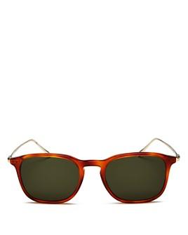 Salvatore Ferragamo - Men's Square Sunglasses, 53mm