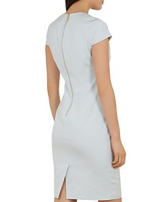 Ted Baker - Working Title Kloee Neck-Detail Dress