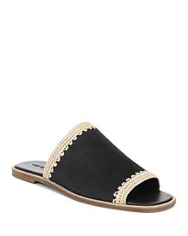 Vince - Women's Padmore Suede Slide Sandals