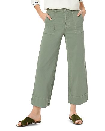 Joe's Jeans - The High Rise Crop Trouser Jeans in Seagrass