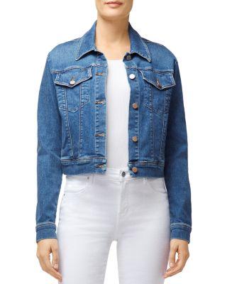J Brand Jeans Womens Harlow Shrunken Jacket