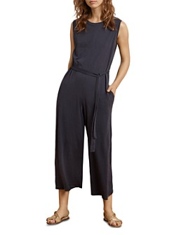 Velvet by Graham & Spencer - Wide-Leg Cropped Jumpsuit