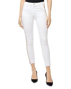 J Brand - Alana Crop Skinny Jeans in Borderline