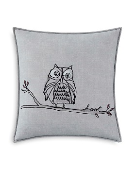 "ED Ellen Degeneres - Hoot Decorative Pillow, 18"" x 18"""