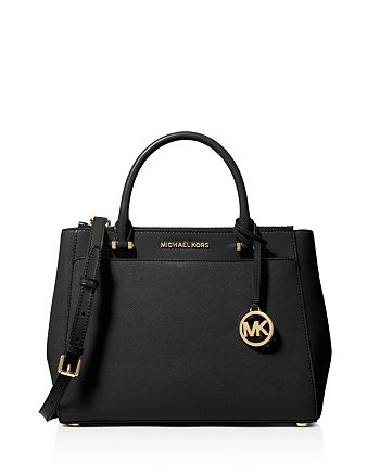 MICHAEL Michael Kors Gibson Large Leather Satchel