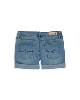 ag Adriano Goldschmied Kids - Girls' Zig-Zag Finley Denim Shorts - Big Kid
