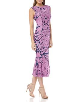 JS Collections - Soutache Midi Dress